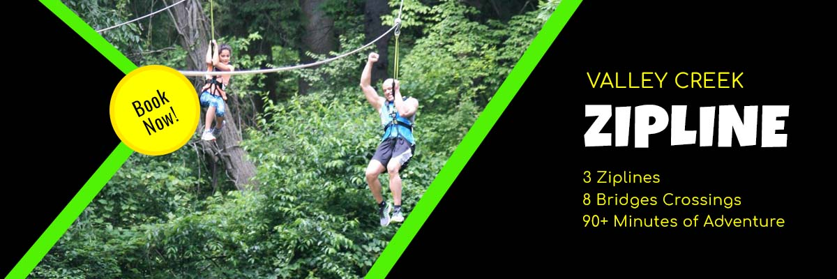 Valley Creek Zipline Tour